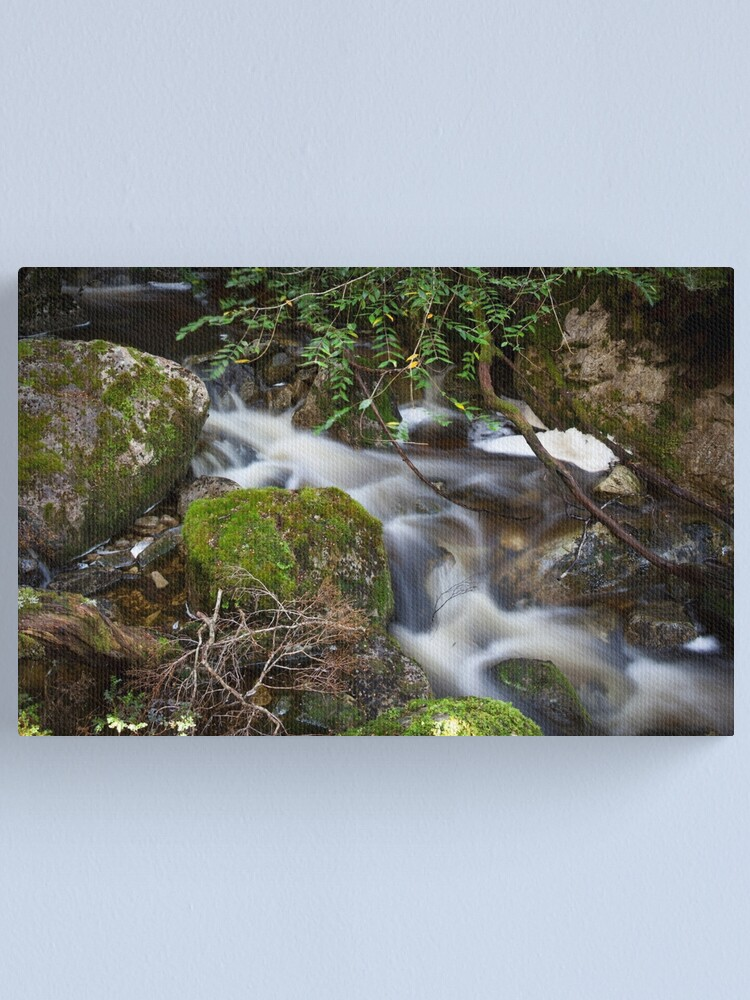 Alternate view of Crater Falls Canvas Print