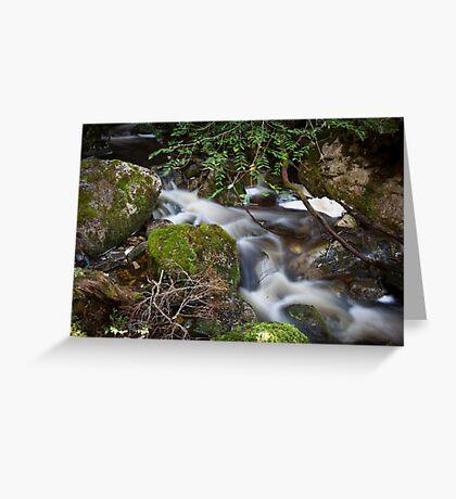 Crater Falls Greeting Card