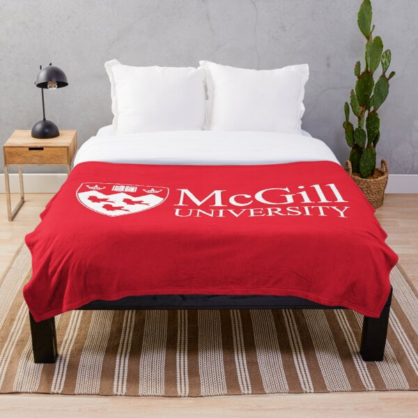 McGill University Throw Blanket