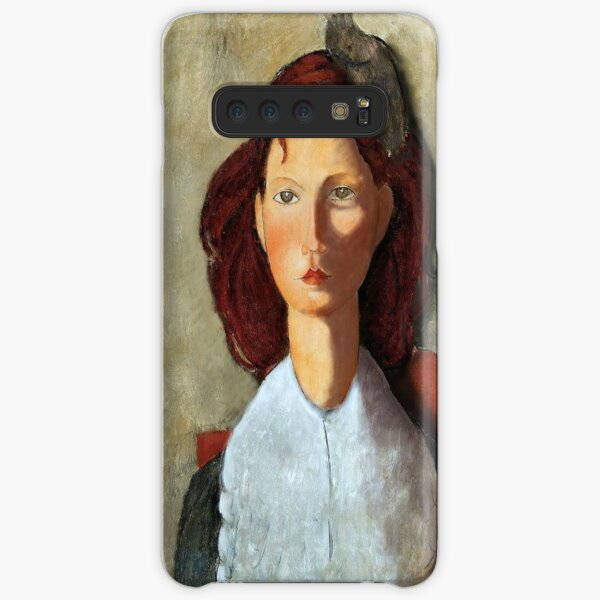 Young Girl, Seated, by Amedeo Modigliani Samsung Galaxy Snap Case