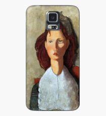 Young Girl, Seated, by Amedeo Modigliani Case/Skin for Samsung Galaxy