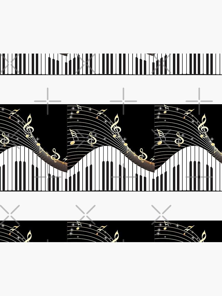 Piano keys  by Apolonija