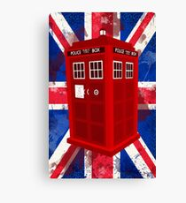 Police Call Box Canvas Print