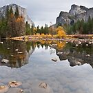 El Capitan Reflected in the Merced River by Jeff Goulden
