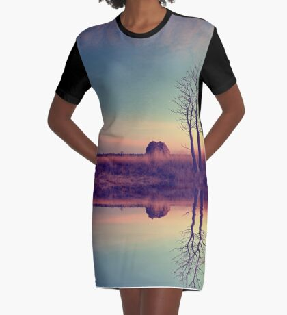 Voyage of discovery Graphic T-Shirt Dress