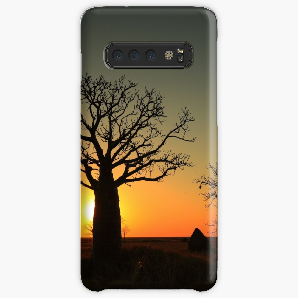 Sunset on the flats Case & Skin for Samsung Galaxy
