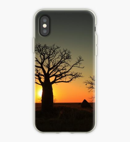 Sunset on the flats iPhone Case