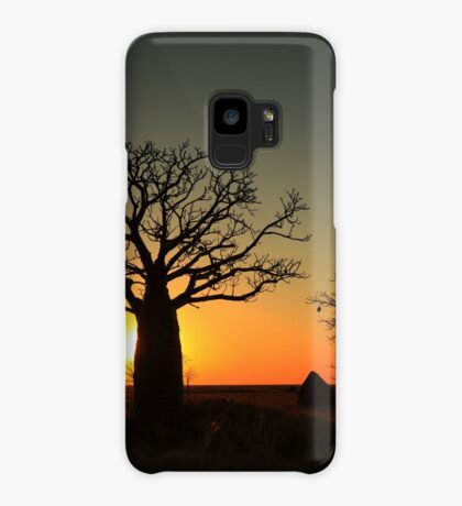 Sunset on the flats Case/Skin for Samsung Galaxy