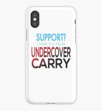 Undercover Carry iPhone Case/Skin