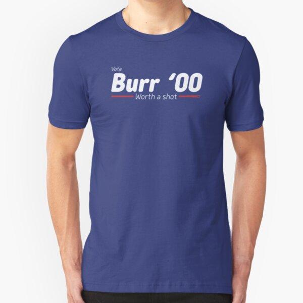 Aaron Burr - The Election of 1800 (Hamilton) Slim Fit T-Shirt