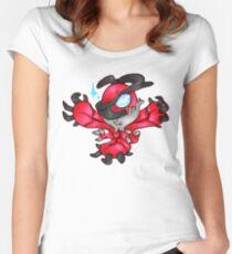 chibi yveltal Women's Fitted Scoop T-Shirt