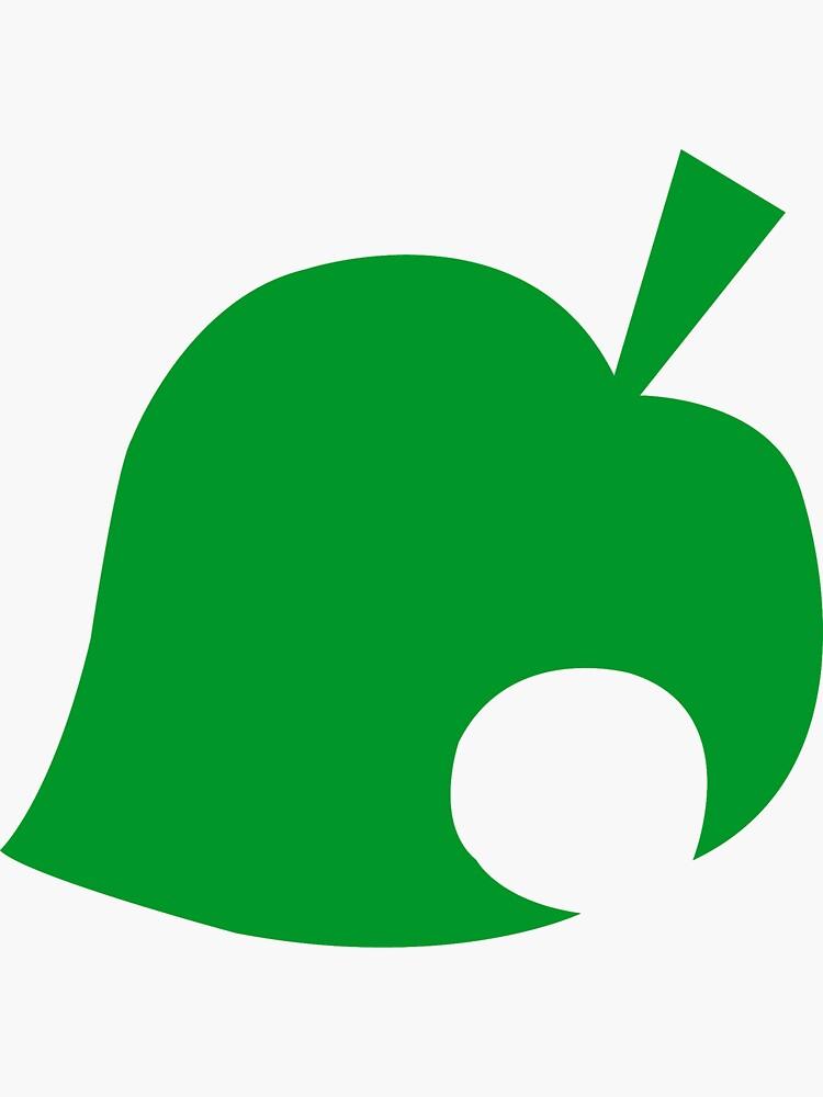 Animal Crossing Leaf Logo by MrPickle255