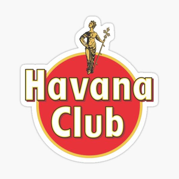 havane club-rouge Sticker