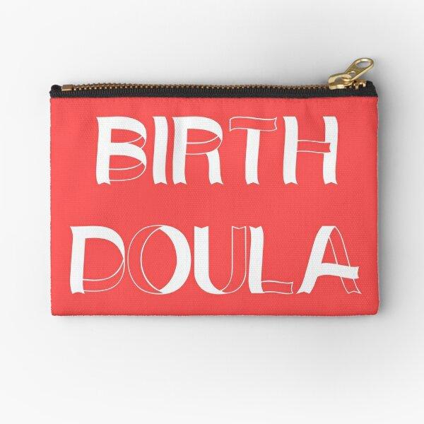 BIRTH DOULA Midwife Childbirth Design Zipper Pouch