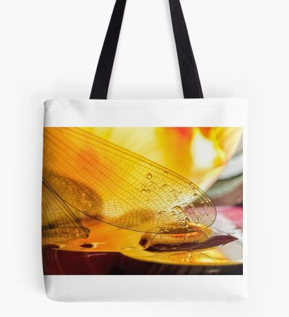 Gold Drops Tote Bag