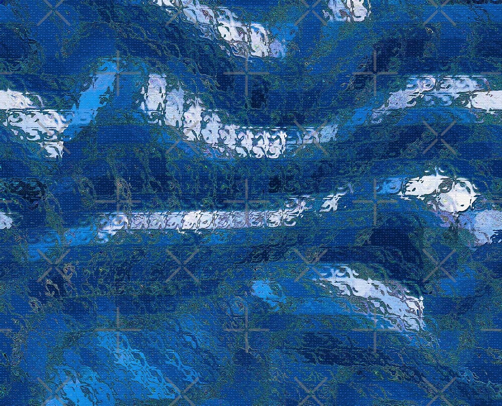 Abstract Blue by Buckwhite