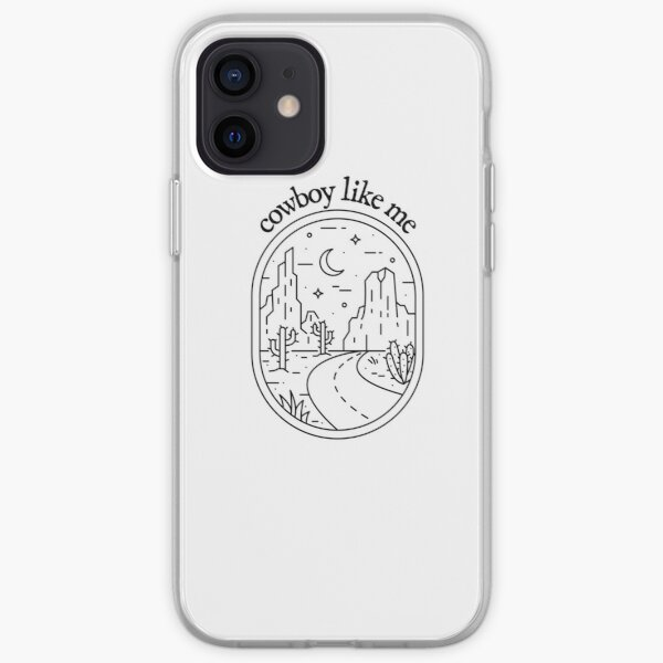 cowboy like me evermore Taylor Swift iPhone Soft Case