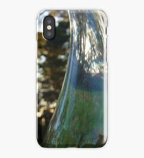Distorted bottle iPhone Case