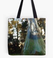 Distorted bottle Tote Bag