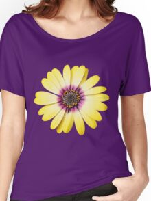 Purple and Gold Women's Relaxed Fit T-Shirt