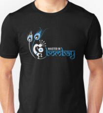 Wasted In Bombay - Blue Logo Promo Unisex T-Shirt