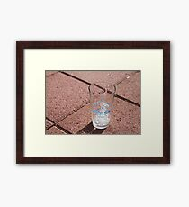 EVO Glass Framed Print
