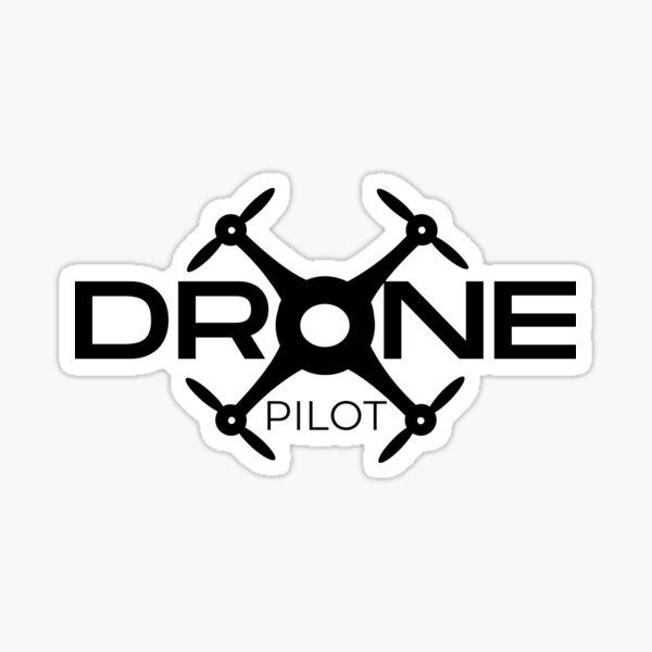 Drone Pilot Pegatina