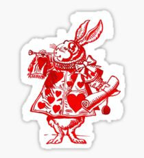 The White Rabbit Sticker