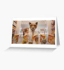 Fantastic MR.Fox Greeting Card