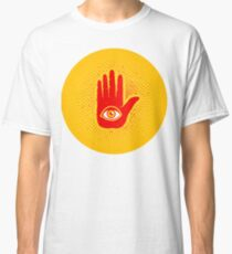Hand and eye Classic T-Shirt
