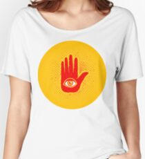 Hand and eye Women's Relaxed Fit T-Shirt