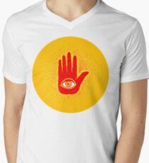 Hand and eye Men's V-Neck T-Shirt