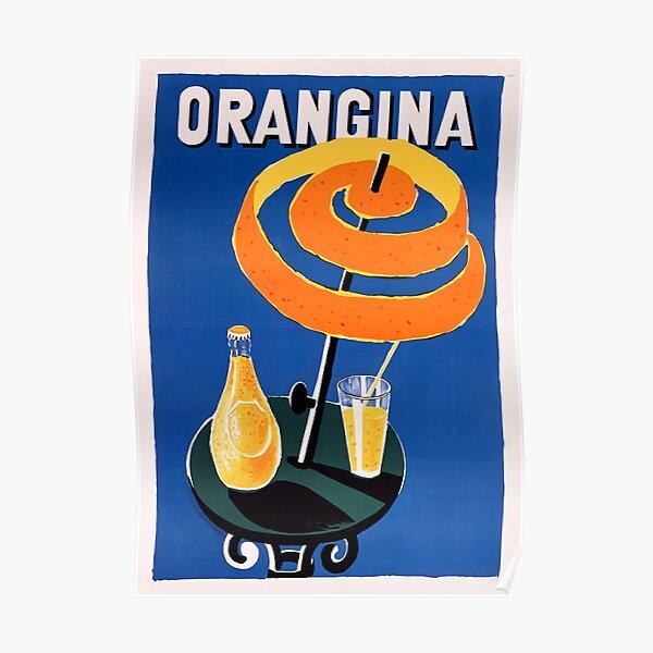 Orangina Drink Poster Poster
