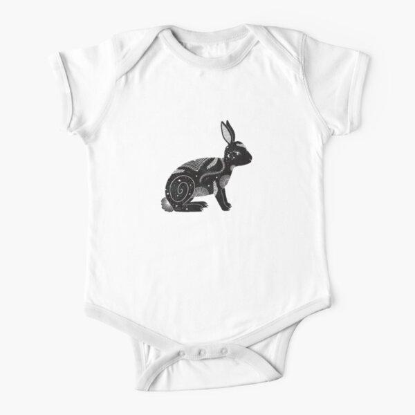 Rabbit Short Sleeve Baby One-Piece