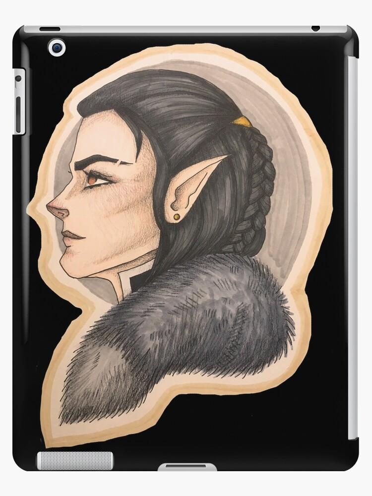 Vax Half Elf Rogue Ipad Cases Skins By Shadocanary Redbubble