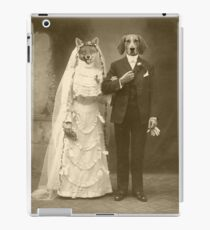 A marriage not made in heaven iPad Case/Skin