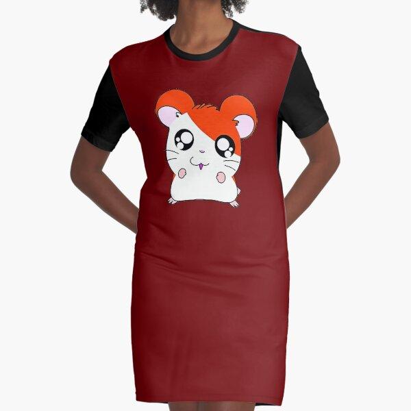hamtaro hamster Graphic T-Shirt Dress