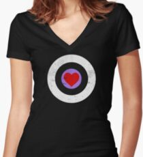 Robert Downey Jr.'s Random Act Funding Tee Women's Fitted V-Neck T-Shirt