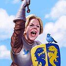 Knight Elizabeth Warren by DylanVermeul