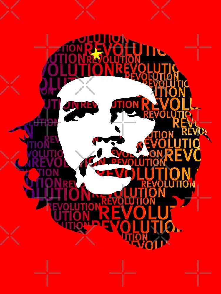 Che Guevara Revolution by monsterplanet