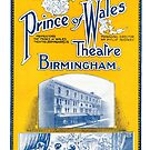 The Prince of Wales Theatre Programme by Kawka