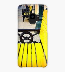 Yellow Bench Case/Skin for Samsung Galaxy