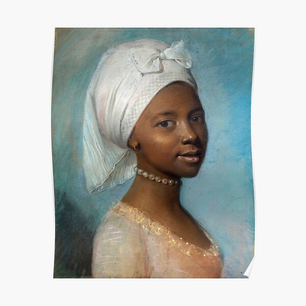 Portrait of a Young Woman - Jean-Etienne Liotard Poster