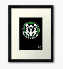 Welcome, cows of Earth! Framed Print