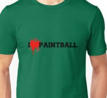 I love Paintball Unisex T-Shirt