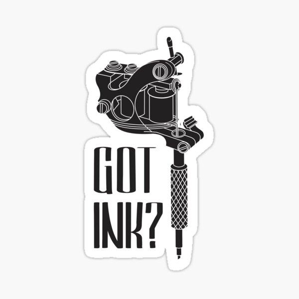Tattoo Machine Sticker
