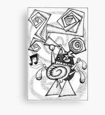 Jazz haggis Canvas Print