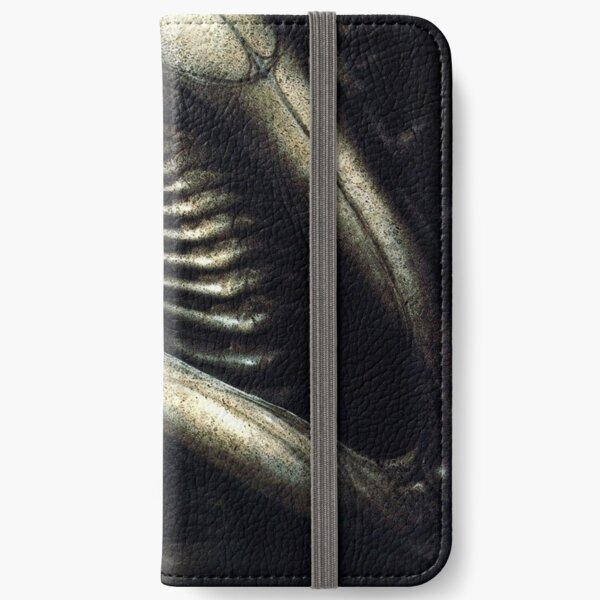 H.R Giger - The Redeemer iPhone Wallet