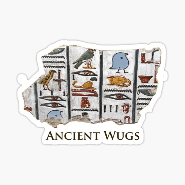 Ancient Wugs Sticker