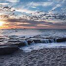 Burns Beach sunset by Celine Dubois